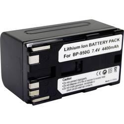 Kamerabatteri Conrad energy Ersättning originalbatteri BP-950G 7.4 V 4400 mAh
