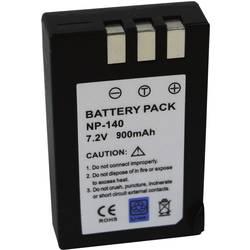 Kamerabatteri Conrad energy Ersättning originalbatteri NP-140 7.4 V 900 mAh