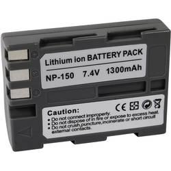 Kamerabatteri Conrad energy Ersättning originalbatteri NP-150 7.4 V 1300 mAh