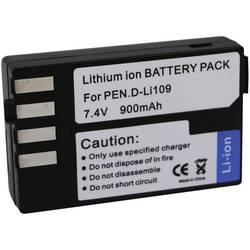 Kamerabatteri Conrad energy Ersättning originalbatteri D-LI109 7.4 V 900 mAh