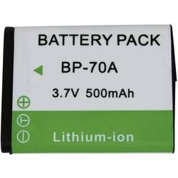 Kamerabatteri Conrad energy Ersättning originalbatteri BP-70A 3.7 V 500 mAh