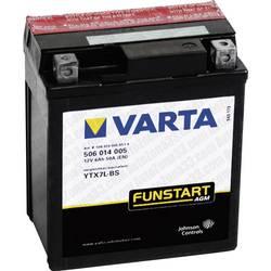 VARTA Akumulator za motorna kolesa YTX7L-4 / -BS 506014005 12 V 6 Ah Y5 za motorna kolesa, štirikolesnike, Jet Ski, motorne sani