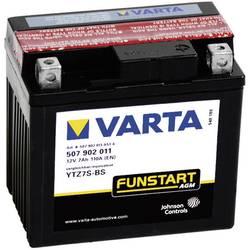 VARTA Akumulator za motorna kolesa YTZ7S-4 / -BS 507902011 12 V 7 Ah Y5 za motorna kolesa, štirikolesnike, Jet Ski, motorne sani