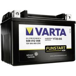 VARTA Akumulator za motorna kolesa YTX9-4 / -BS 508012008 12 V 8 Ah Y5 za motorna kolesa, štirikolesnike, Jet Ski, motorne sani