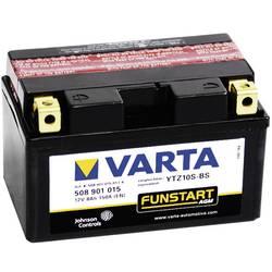 VARTA Akumulator za motorna kolesa YTZ10S-4 / -BS 508901015 12 V 8 Ah Y11 za motorna kolesa, štirikolesnike, Jet Ski, motorne sa
