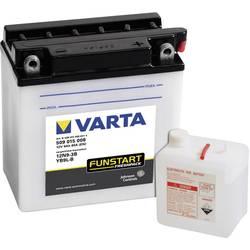 VARTA Akumulator za motorna kolesa 12N9-3B, YB9L-B 509015008 12 V 9 Ah Y6 za motorna kolesa, skuterje, štirikolesnike, Jet Ski,
