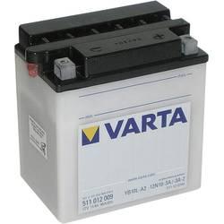 VARTA Akumulator za motorna kolesa 12N10-3A, 12N10-3A-1, 12N10-3A-2, YB10L-A2 511012009 12 V 11 Ah Y6 za motorna kolesa, skuterj