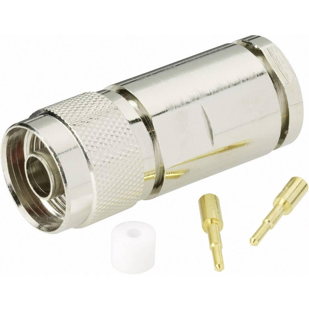 N-stikforbindelse BKL Electronic 0404061 50 Ohm Stik, lige 1 stk