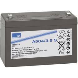 Olovni akumulator 4 V 3.5 Ah GNB Sonnenschein A504/3,5 S NGA50403D5HS0SA olovno-gelni (Š x V x D) 91 x 65 x 35 mm plosnati utika