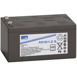 Olovni akumulator 12 V 1.2 Ah GNB Sonnenschein A512/1,2 S NGA51201D2HS0SA olovno-gelni (Š x V x D) 98 x 55 x 50 mm plosnati utik