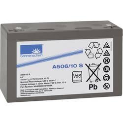 Olovni akumulator 6 V 10 Ah GNB Sonnenschein A506/10 S NGA5060010HS0SA olovno-gelni (Š x V x D) 152 x 99 x 51 mm plosnati utikač