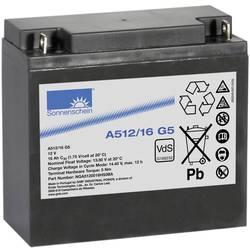Olovni akumulator 12 V 16 Ah GNB Sonnenschein A512/16 G5 NGA5120016HS0BA olovno-gelni (Š x V x D) 181 x 167 x 76 mm M5-vijčani p