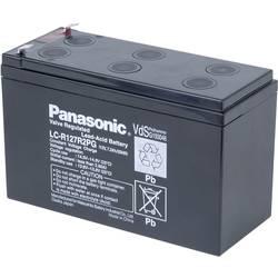 Svinčev akumulator 12 V 7.2 Ah Panasonic 12 V 7, 2 Ah LC-R127R2PG svinčevo-koprenast (AGM) 151 x 94 x 65 mm ploščati vtič 4.8 mm