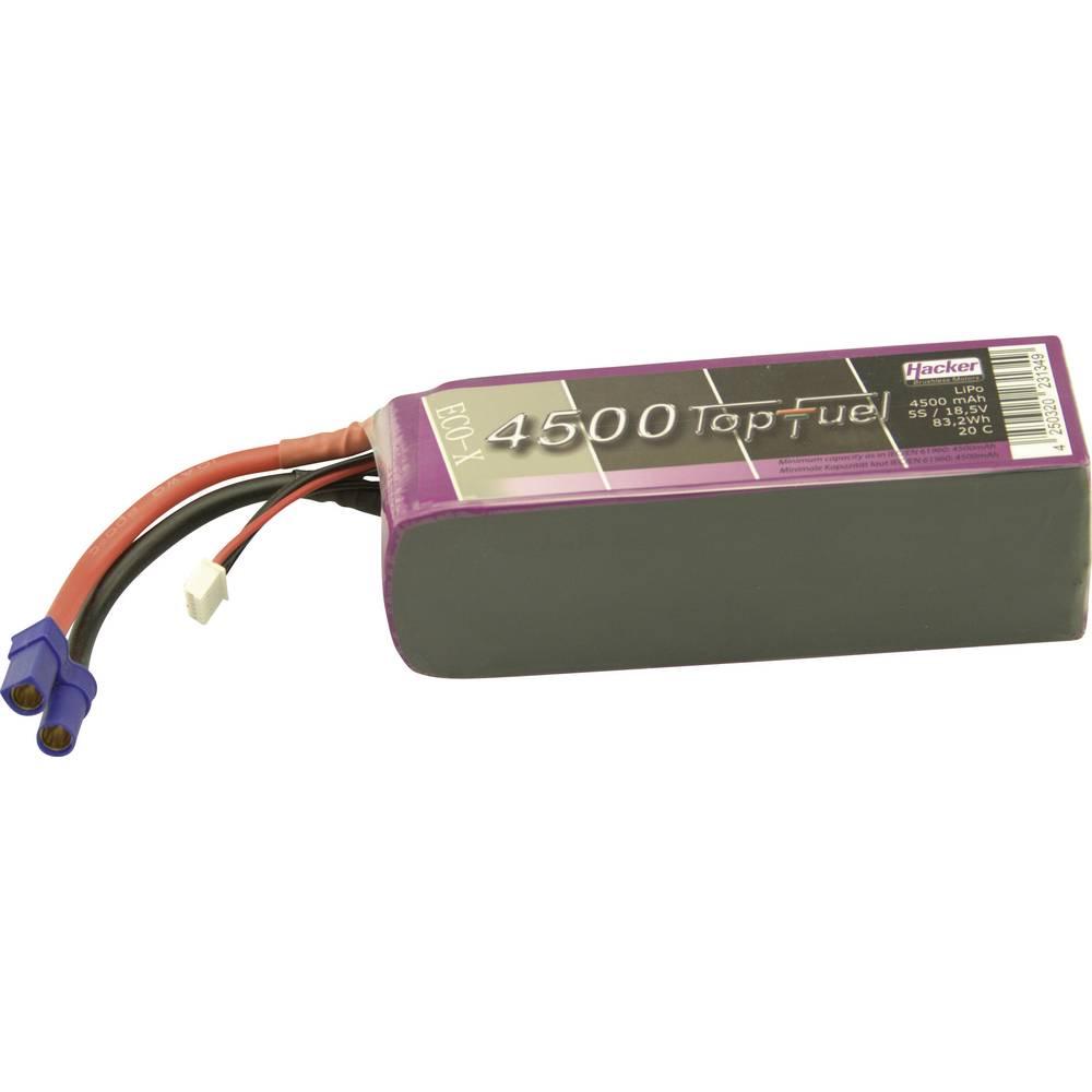 LiPo-akumulator Hacker , 18,5V, 4.500 mAh, 20 C, vtični sistem: EC5, XH 34500531