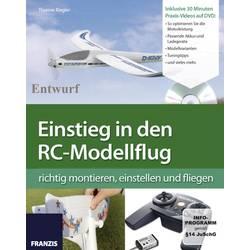 Bog: Introduktion til RC modelfly Franzis Verlag