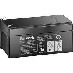Svinčev akumulator 12 V 3.4 Ah Panasonic 12 V 3, 4 Ah LC-R123R4PG svinčevo-koprenast (AGM) 134 x 60 x 67 mm ploščati vtič 4.8 mm