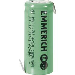 NiMH akumulator Emmerich 4/5 A Z-spajkalni priključek 1.2 V 1800 mAh (Ø x V) 17 mm x 43 mm