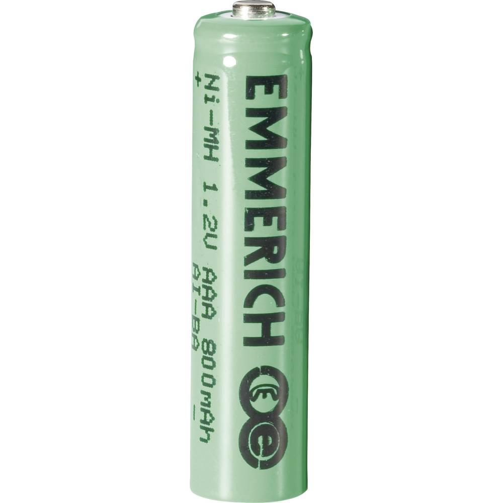 Micro (AAA)-akumulator NiMH Emmerich HR03 800 mAh 1.2 V 1 kom.