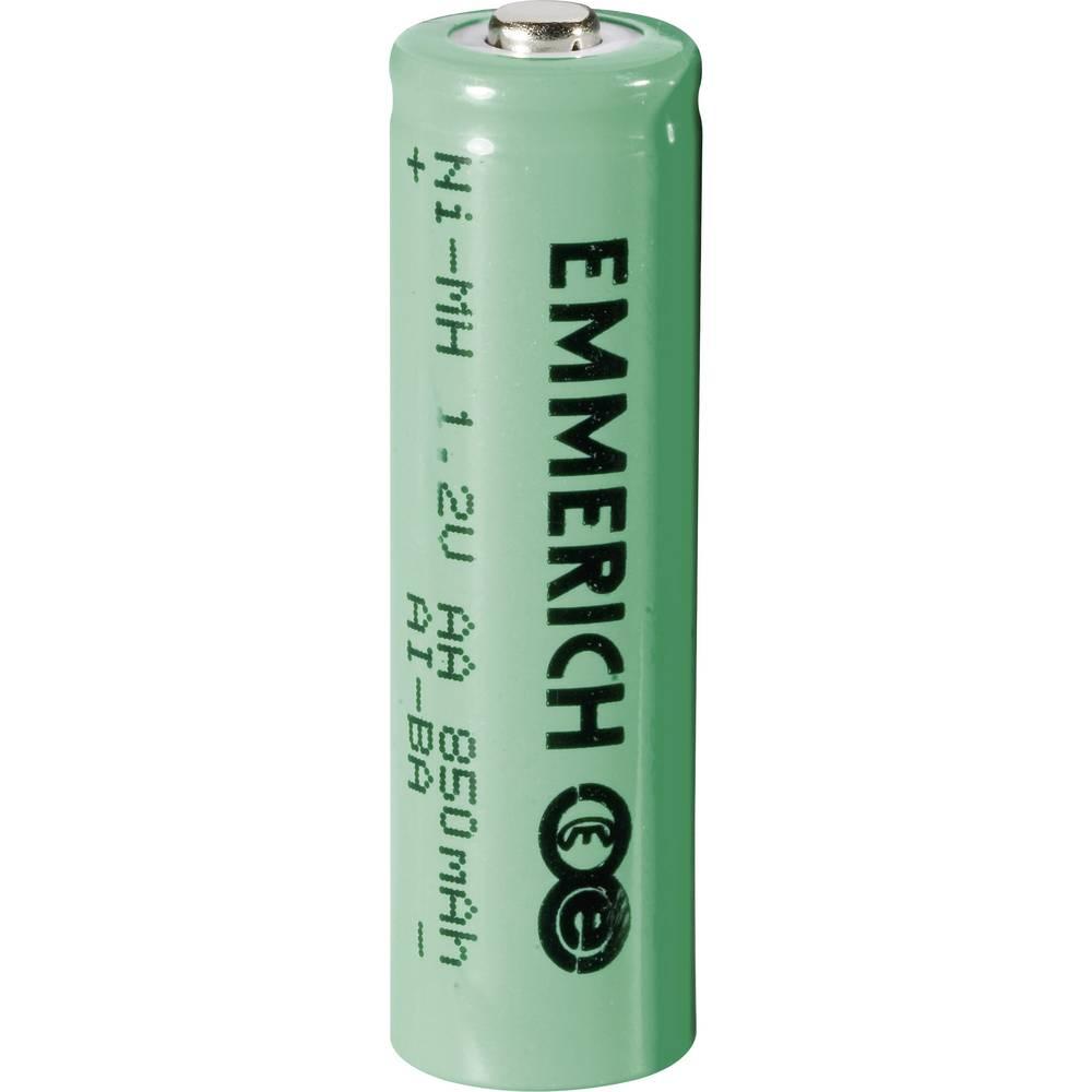 Mignon (AA)-akumulator NiMH Emmerich HR06 850 mAh 1.2 V 1 kom.