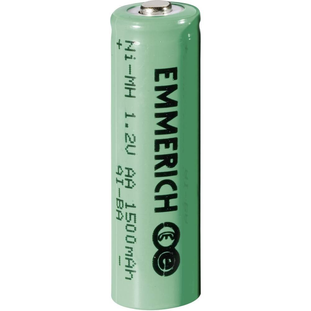 Mignon (AA)-akumulator NiMH Emmerich HR06 1500 mAh 1.2 V 1 kom.