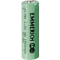 Genopladeligt AA-batteri NiMH Emmerich HR06 1500 mAh 1.2 V 1 stk