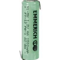 Emmerich AA NiMH-akumulator, ZLF 1.2 V 1500 mAh ( x V) 14.5 mm x 49.5 mm