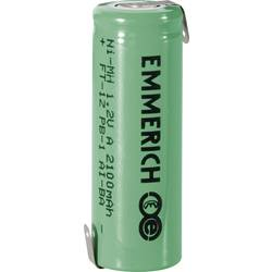 Special-batteri A Z-loddefane NiMH Emmerich A ZLF 1.2 V 2100 mAh 1 stk