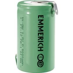 Emmerich D NiMH-akumulator, ZLF 1.2 V 5000 mAh ( x V) 32.5 mm x 61 mm