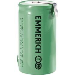 Emmerich D NiMH-akumulator, ZLF 1.2 V 9000 mAh ( x V) 32.5 mm x 61 mm