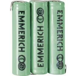 Emmerich NiMH akumulatorski paket Micro 3,6 V, ZLF 800 mAh (D x Š x V) 32.5 x 10.5 x 44.5 mm