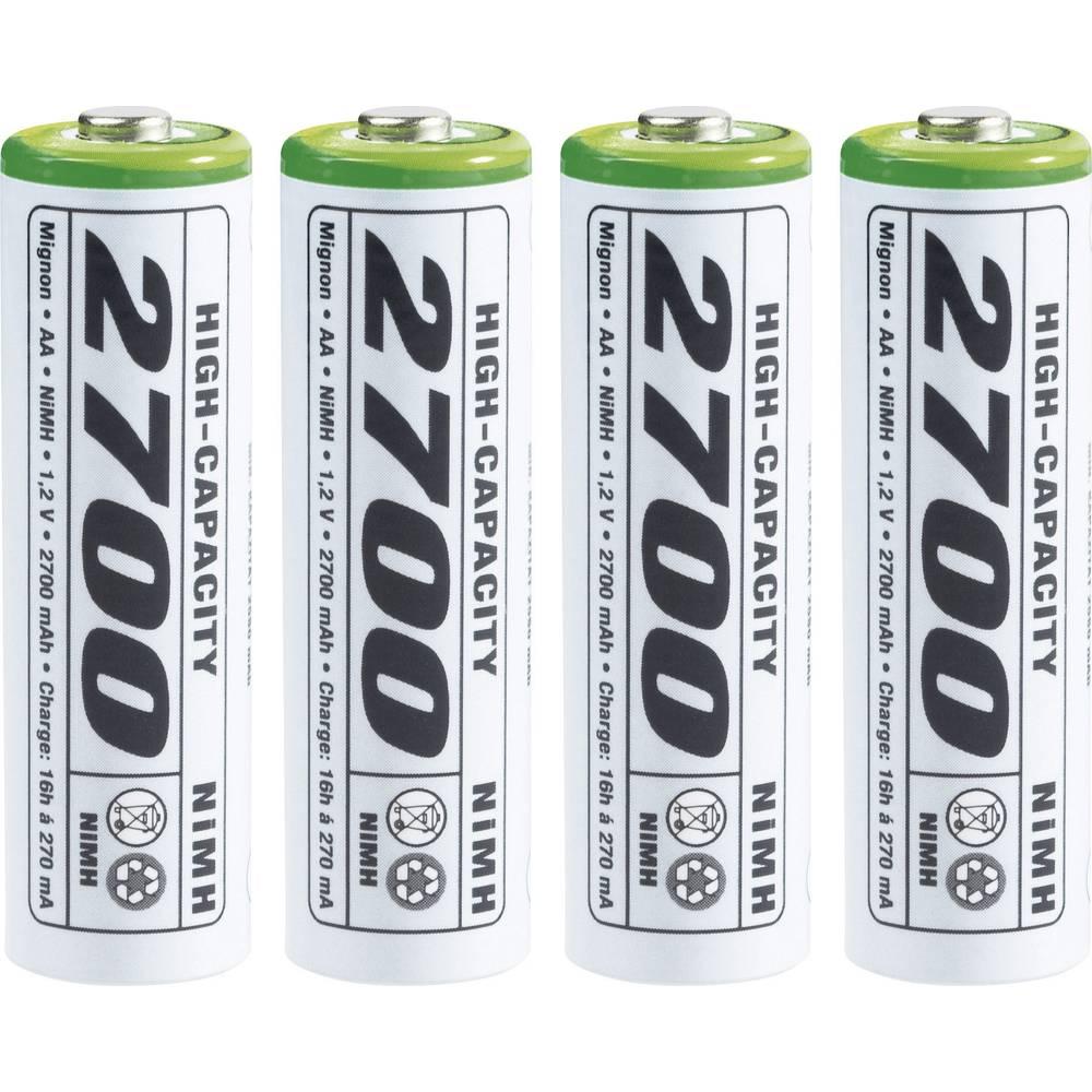 Mignon (AA) akumulator NiMH Emmerich HR06 2700 mAh 1.2 V 4 kom.