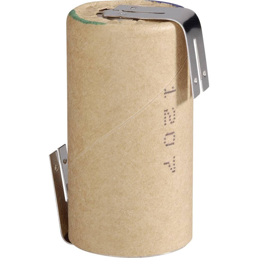NiMH akumulator Panasonic Sub C Z-spajkalni priključek, HHR30SCP/PP-LF 1.2 V 3000 mAh (Ø x V) 23 mm x 43 mm