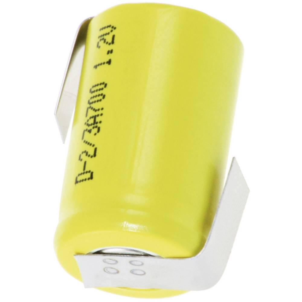 NiCd akumulatorska baterija Mexcel 2/3 A, 1, 2 V, 700 mAh, (Ø x V) 17 x 28 mm D-2/3A700