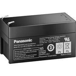 Svinčev akumulator 12 V 1.3 Ah Panasonic 12 V 1, 3 Ah LC-R121R3PG svinčevo-koprenast (AGM) 97 x 50 x 48 mm ploščati vtič 4.8 mm