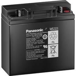 Svinčev akumulator 12 V 17 Ah Panasonic 12 V 17 Ah LC-XD1217PG svinčevo-koprenast (AGM) 181 x 167 x 76 mm M5-vijačni priklop