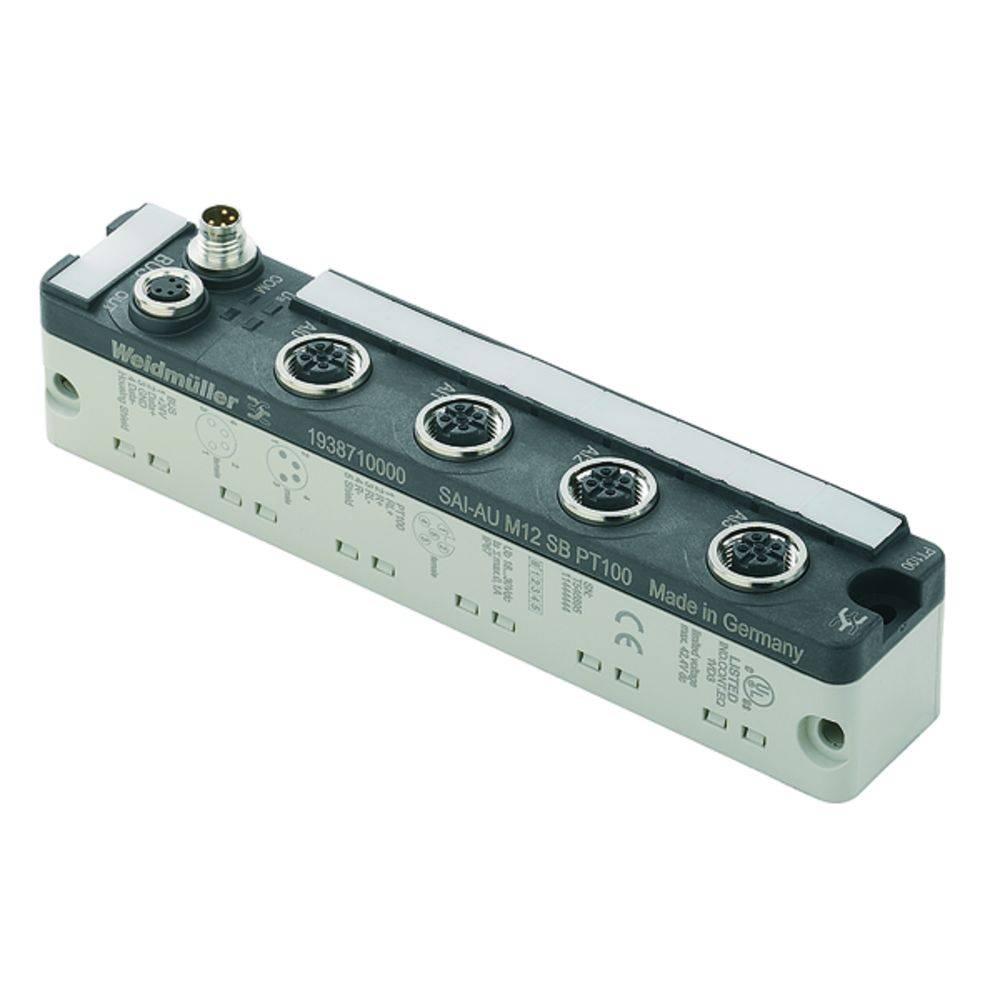Škatla za senzorje in aktuatorje SAI-AU M12 SB 4PT100 Weidmüller vsebuje: 1 kos