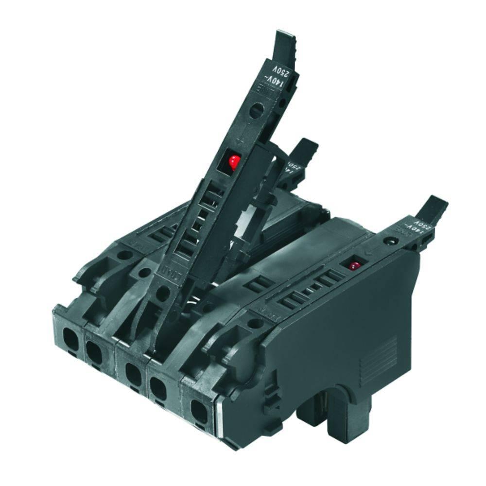 Varnostni vtični priključek, prilagodljVarnostni viv: 0.5-4 mm toga: 0.5-4 mm št. polov: 5 Weidmüller PTSI 4/LD 400V AC 1 kos čr
