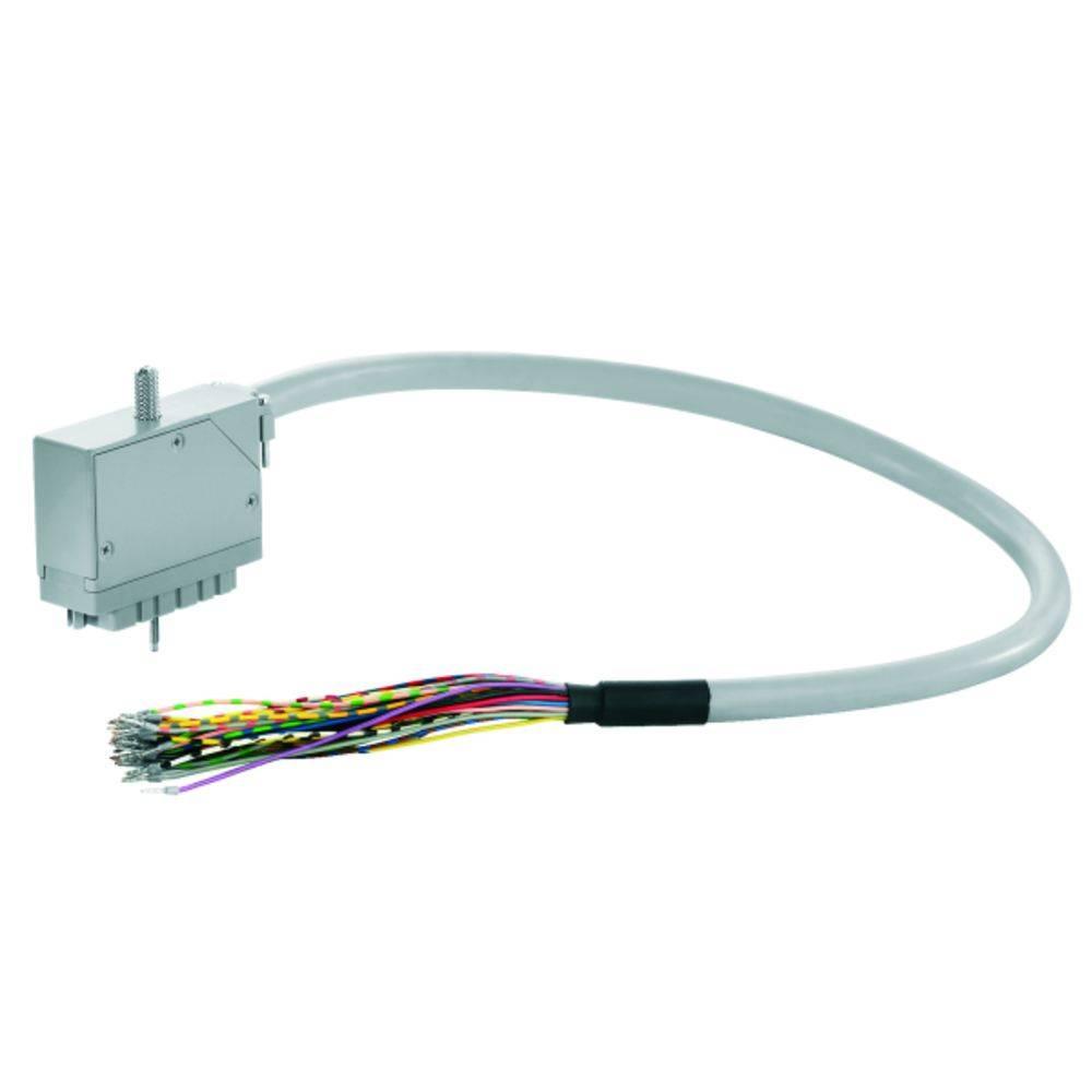 Sestavljeni podatkovni kabel PAC-ELCO56-F56-F56-1M Weidmüller vsebina: 1 kos