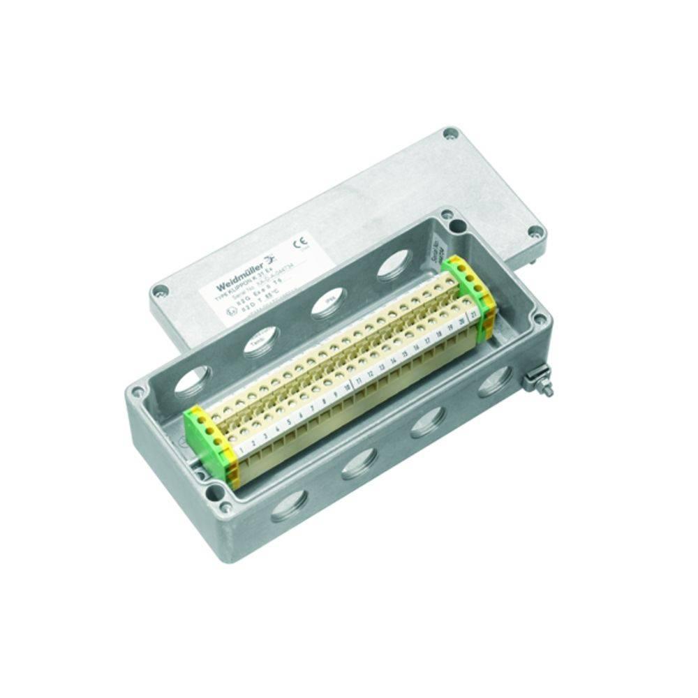 Installationskabinet Weidmüller KLIPPON K31 M20ACSS EX Aluminium 1 stk