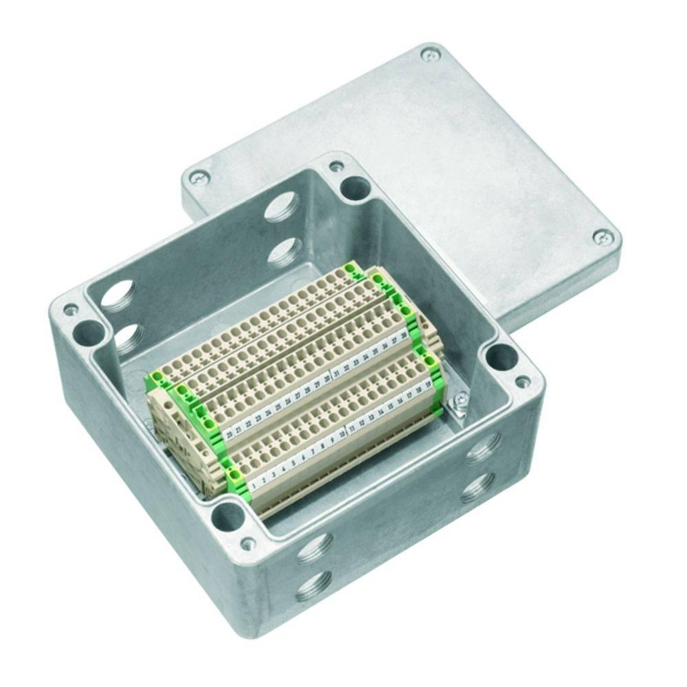 Installationskabinet Weidmüller KLIPPON K52 M20ZCSS EX Aluminium 1 stk