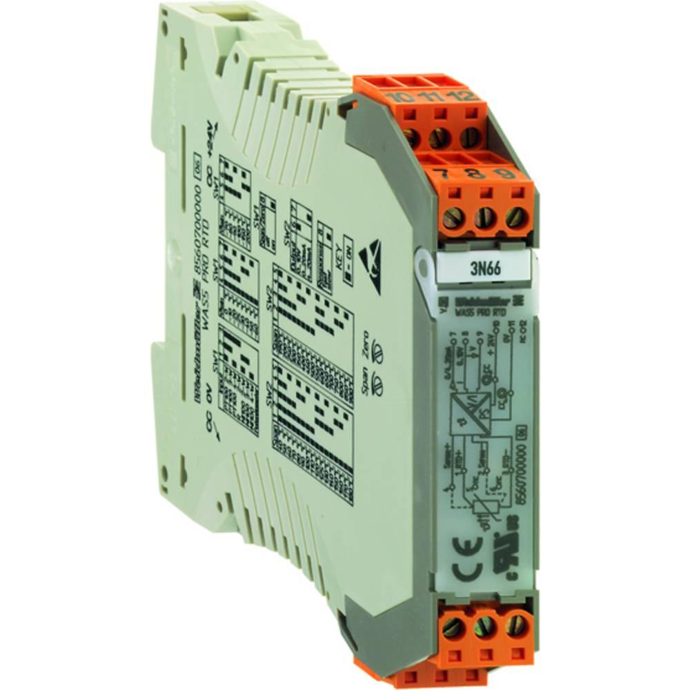 RTD-pretvornik WTS4 PT100/3 V 0-10V 0...100C kataloška številka 8432090001 Weidmüller vsebuje: 1 kos