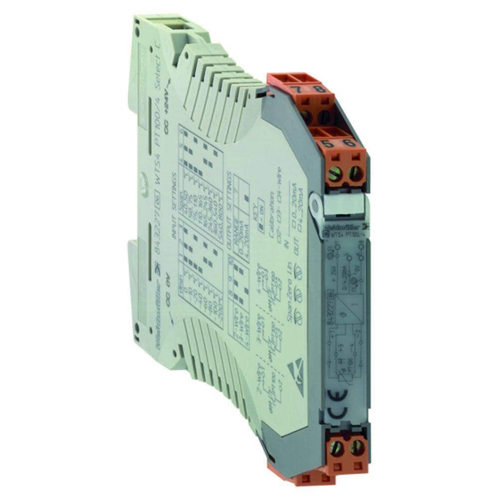 RTD-pretvornik WTS4 PT100/4 V 0-10V kataloška številka 8432240000 Weidmüller vsebuje: 1 kos