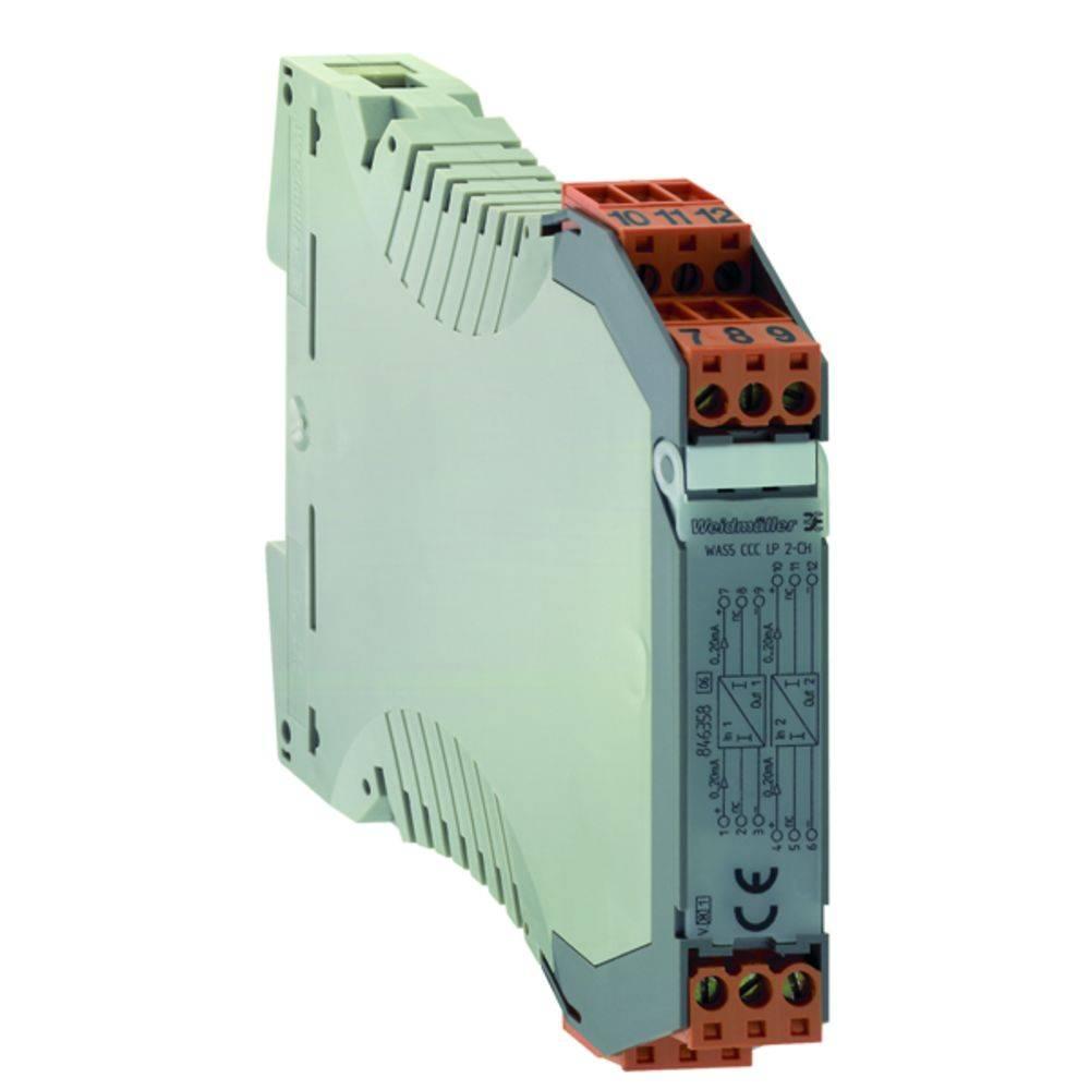 Pasivni ločilnik WAS5 CCC LP 0-20/0-20MA kataloška številka 8444950000 Weidmüller vsebuje: 1 kos