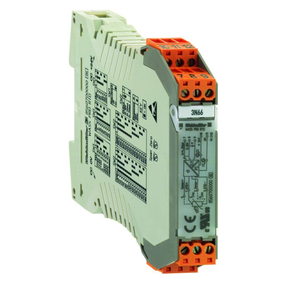 RTD-ločilni pretvornik WAZ5 PRO RTD kataloška številka 8560710000 Weidmüller vsebuje: 1 kos