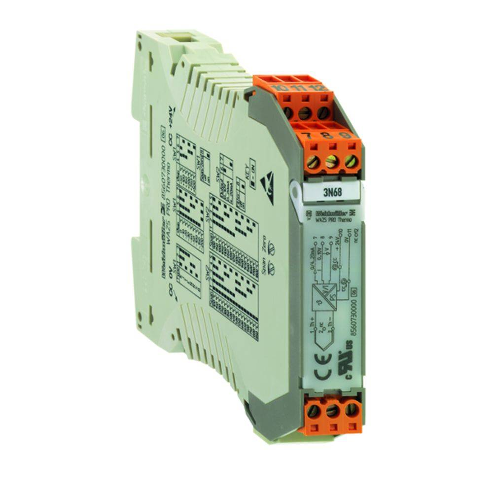 Signalni pretvornik/razdelilnik WAZ5 VVC HF 0-10/0-10V kataloška številka 8447380000 Weidmüller vsebuje: 1 kos