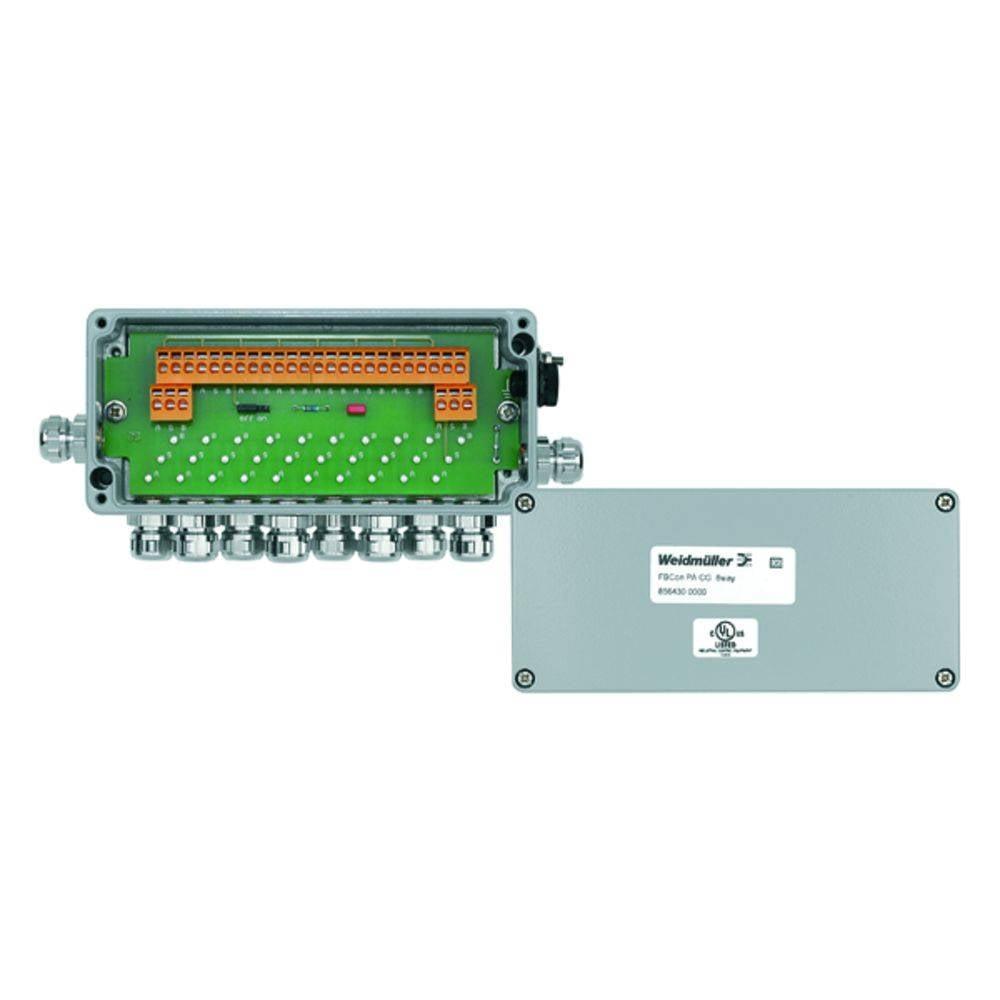 Sensor/aktorbox passiv PROFIBUS-PA standardfordeler FBCON PA CG 8WAY 8564300000 Weidmüller 1 stk