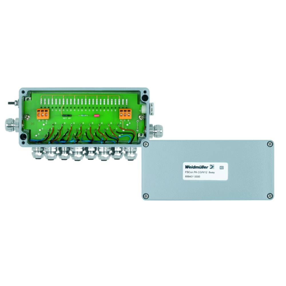 Sensor/aktorbox passiv PROFIBUS-PA standardfordeler EEx(ia) FBCON PA CG/M12 8WAY 8564310000 Weidmüller 1 stk