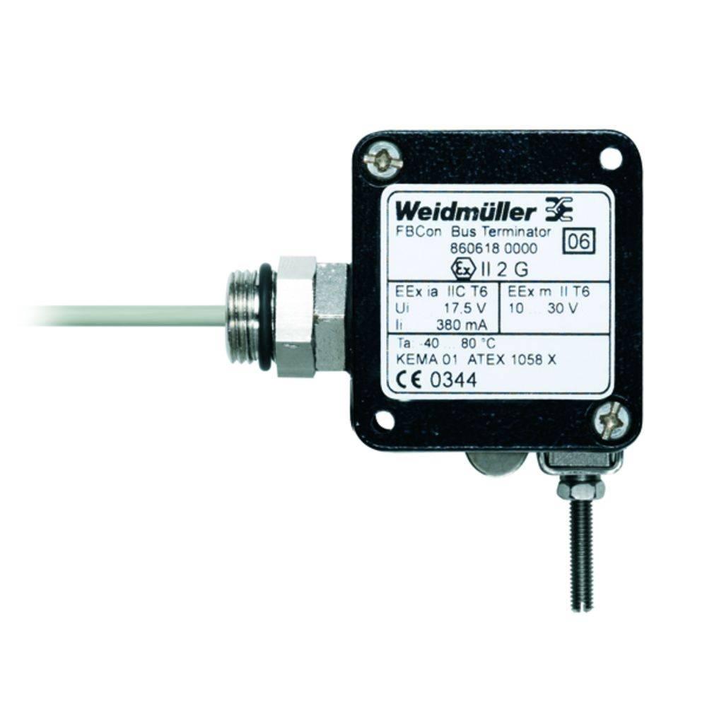 Sensor/aktorbox passiv PROFIBUS-PA standardfordeler EEx(ia) FBCON TERM.D EX PEAN 8606200000 Weidmüller 1 stk