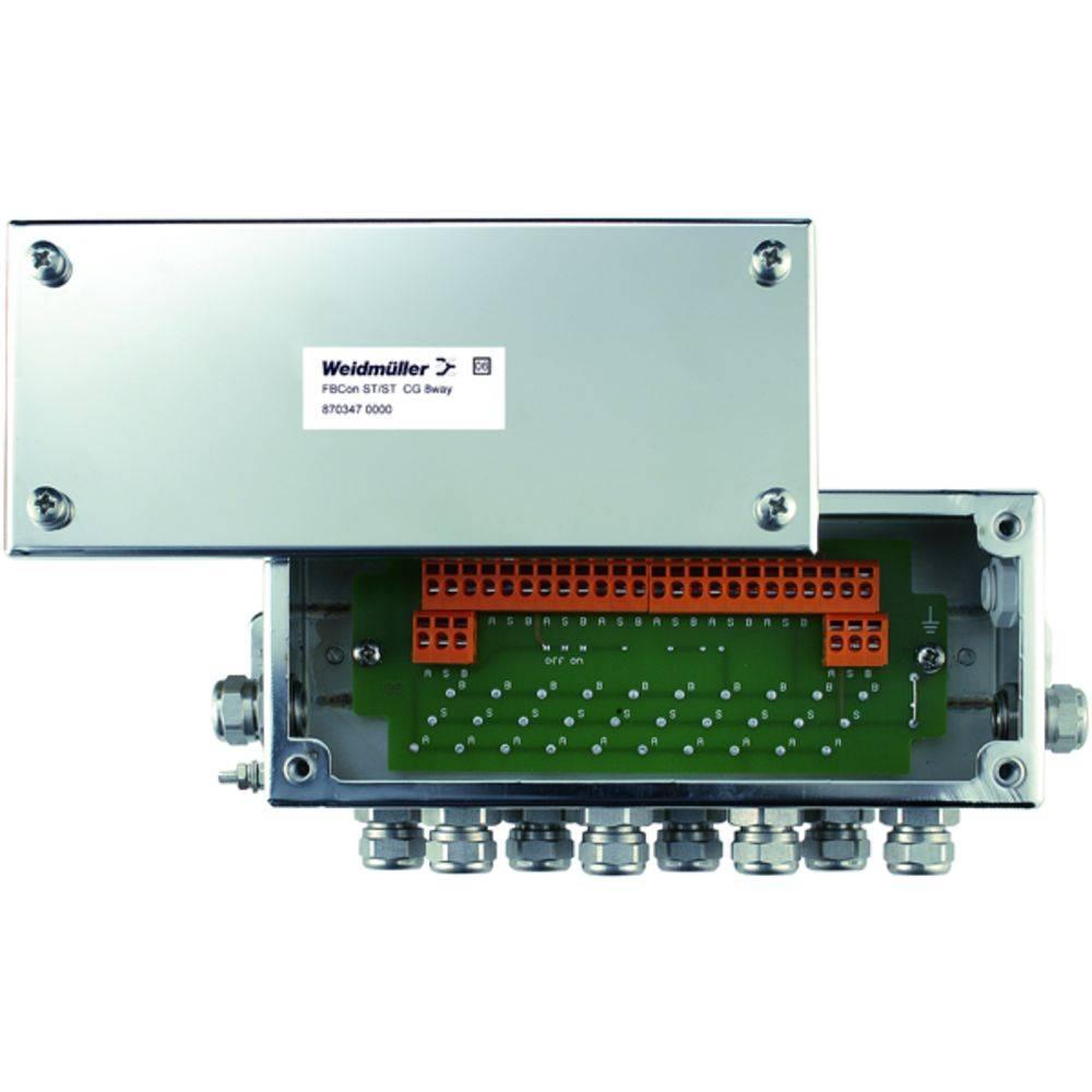 Sensor/aktorbox passiv PROFIBUS-PA standardfordeler FBCON SS CG 8WAY 8703470000 Weidmüller 1 stk