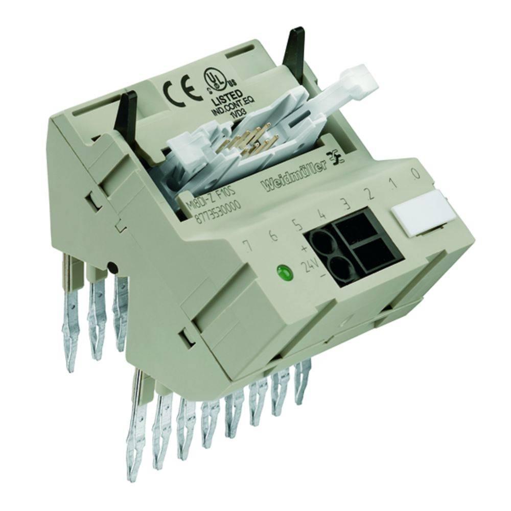 Micro prikazni vtični povezovalnik MI8DO-S F10 S kataloška številka 8773600000 Weidmüller vsebuje: 1 kos